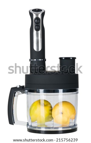 fruites and food processor