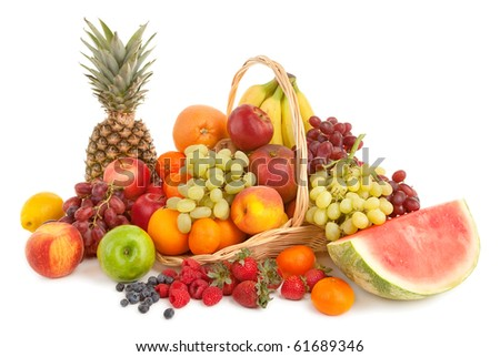 Fruits Arrangement - stock photo