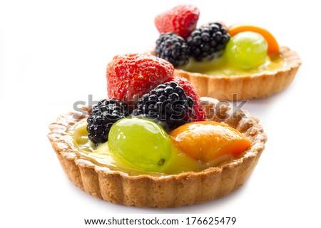 fruits dessert - stock photo
