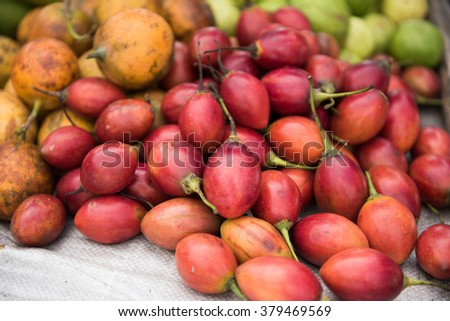 Fruits Selling in Market