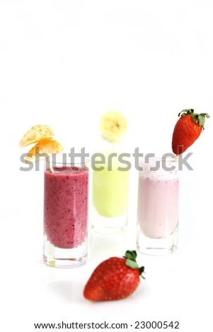 Fruity smoothie - stock photo
