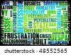 Frustration and Guilt Built Up Inside You - stock photo