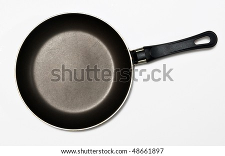 Frying pan, isolated on white background