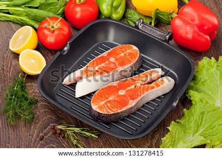 how to cook salmon on fryng pan
