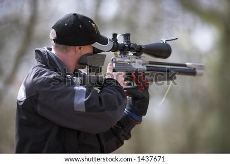 FT Shooter - stock photo
