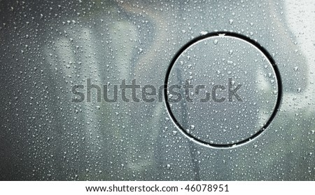 Fuel Cap with raindrops