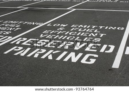 Fuel Efficient Parking