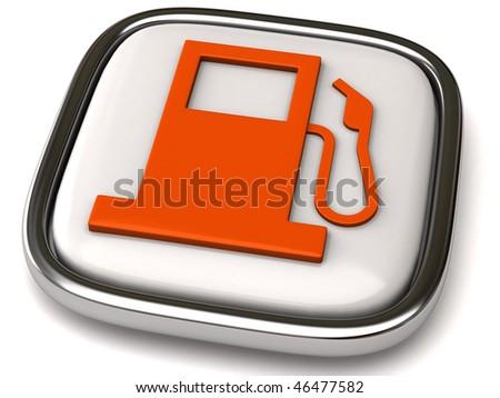 Fuel icon - stock photo