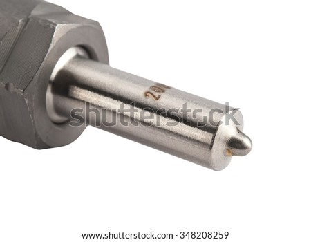 Fuel injector into the combustion chamber of the engine