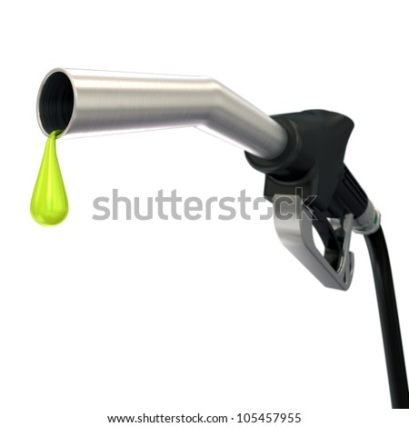 Fuel pump nozzle - stock photo
