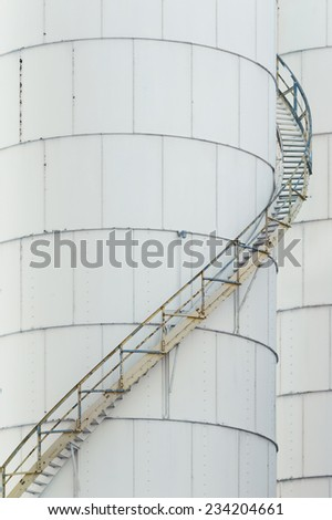 Fuel Storage Tank  - stock photo