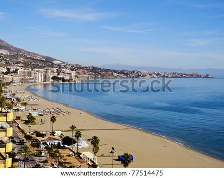 Fuengirola Beach Resort, Spain, Europe - stock photo