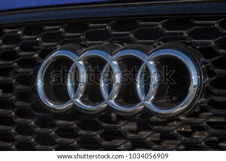 Audi Symbol Stock Images RoyaltyFree Images Vectors Shutterstock - Audi car symbol