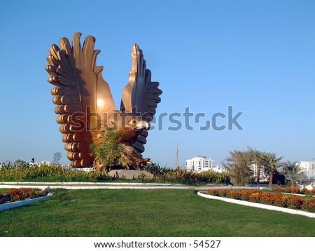 Fujairah, United Arab Emirates. - stock photo