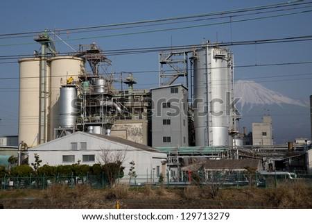 Fuji and petrochemical complex