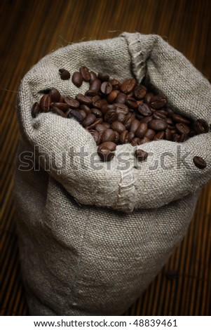 Full bag of coffee bans