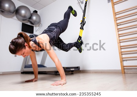 full body workout  - stock photo