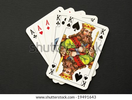full cards - stock photo
