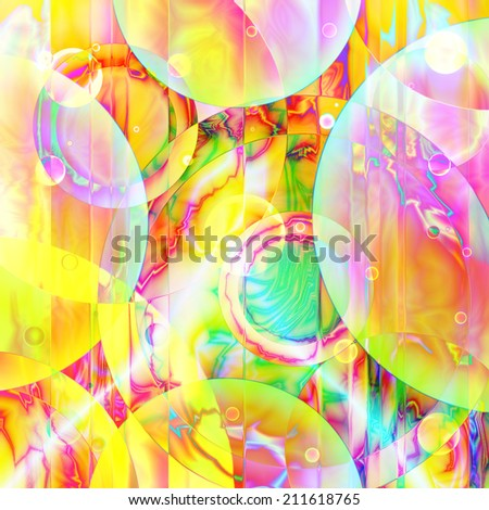 full-color abstract background with circle