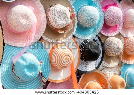 Full color of fashion hat