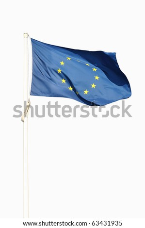 Full european flag - stock photo