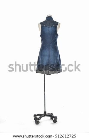 Full Female in sundress clothing on mannequin