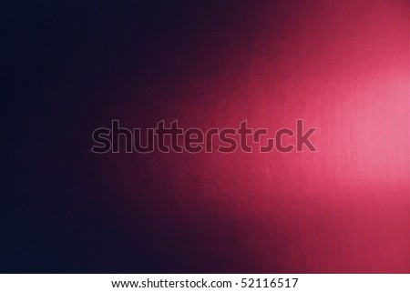 Full frame close up of LCD Television Screen showing pixels graded from red to black with screen curves. - stock photo