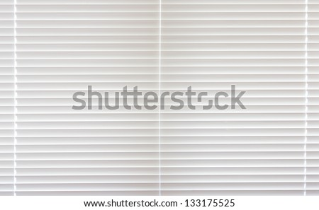 Full frame closed venetian blind - stock photo