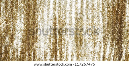 Gold Sequin Background Full Frame Gold Sequins