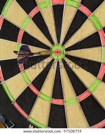 Full Frame of Dart Board