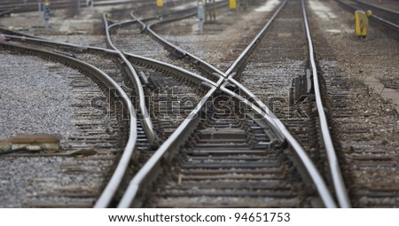 Railroad Tracks Stock Photos Images Amp Pictures