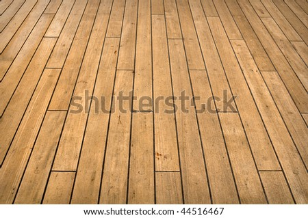 Full Frame view of a cruise ship deck used for background - stock photo