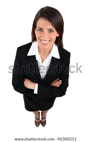 Full length shot of a woman - stock photo