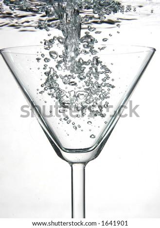 Full Martini - stock photo