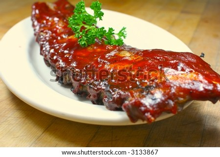 Full Slab of BBQ Ribs