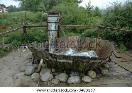 Fulling mill, Bansko, Bulgaria - stock photo