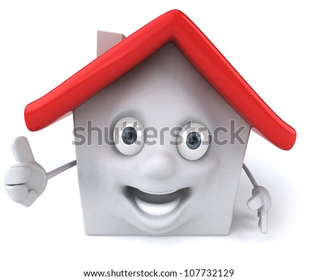 Fun house - stock photo