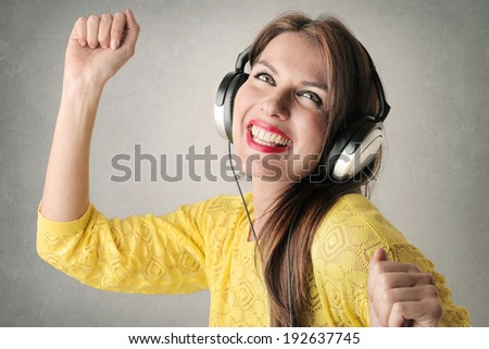 fun music - stock photo