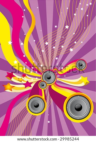 Fun Music - Flyer for your party