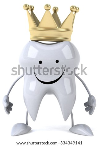 Fun tooth - stock photo