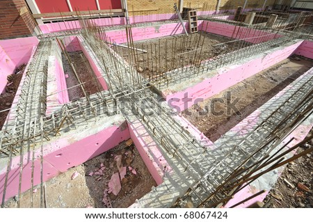 Fundament - stock photo