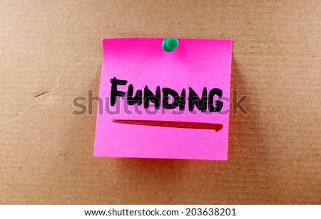Funding Concept - stock photo