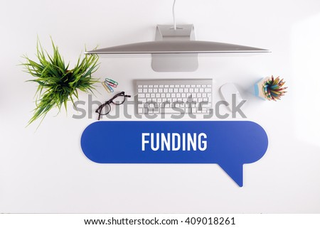 FUNDING Search Find Web Online Technology Internet Website Concept - stock photo