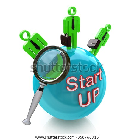 Funding Start-Up. Search money from investors for New Business in the design of information related to investment