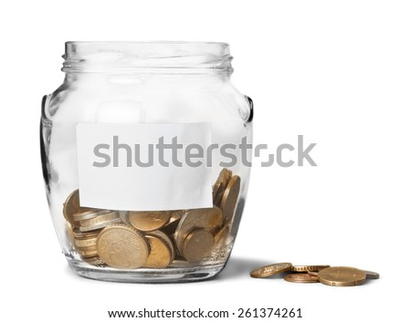 Fundraiser, Charity and Relief Work, Donation Box. - stock photo