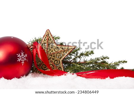 funds decoration and ornaments isolated on white background