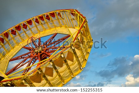 funfair - stock photo