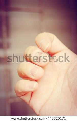 soft thumb nails