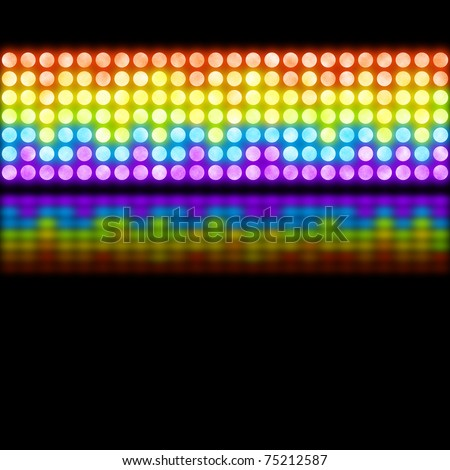 Funky Disco Background