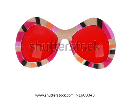 Funky Sun Glasses - stock photo